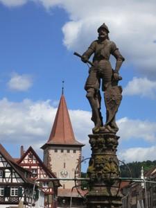 Denkmal Schwarzer Ritter von Gengenbach, Gabriele Szebedits